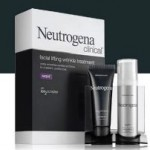 Neutrogena Clinical spf30 facial lifting wrinkle treatment