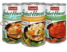 campbell's select harvest soup
